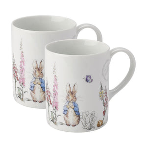 gifteasyonline - Peter Rabbit Pair of Porcelain Mugs - Stow Green - Mug