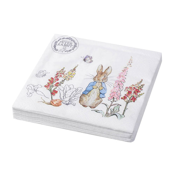 Peter Rabbit 3ply Paper Napkins