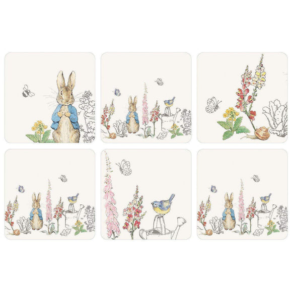 Peter Rabbit Coaster Set