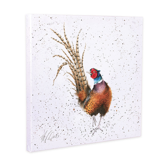 Wrendale Ready for My Close Up'  Pheasant Canvas