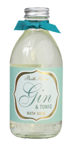 gifteasyonline - Bath House Gin & Tonic Bath Soak 250ml - Bath House - Bath House