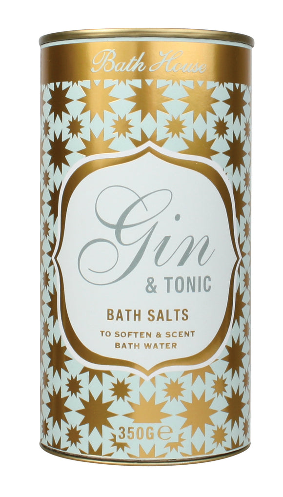 Gin and Tonic Bath Salts Tube by Bath House