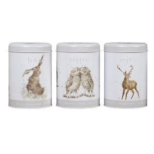 Wrendale Tea, Coffee and Sugar Canisters - Gifteasy Online