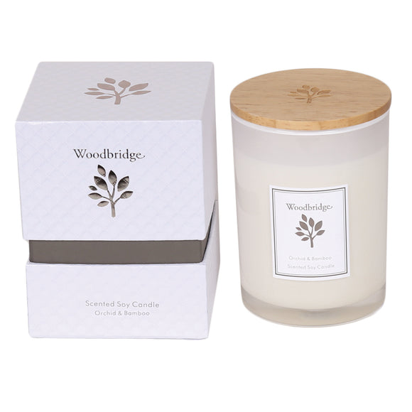 Aromatize Woodbridge Medium Orchid & Bamboo Soy Candle