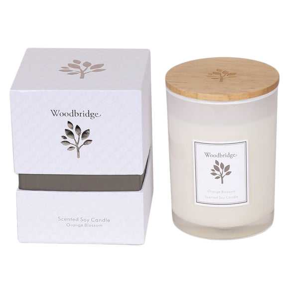 gifteasyonline - Aromatize Woodbridge Medium Orange Blossom Soy Candle - Aromatize - Candles