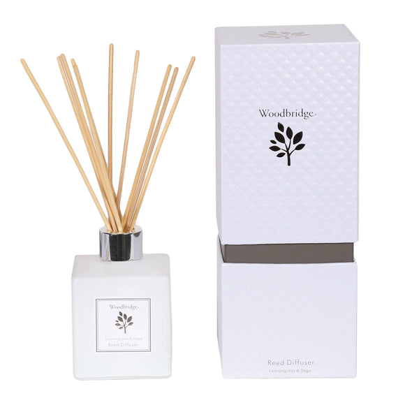 Aromatize Woodbridge 120ml Reed Diffuser Lemon Grass and Sage