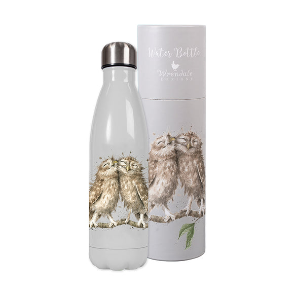Wrendale  Water Bottle 'Birds of a Feather' Owl design