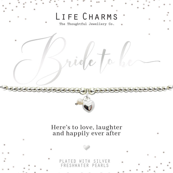 Lifer Charms Bride to Be Bracelet