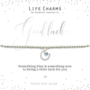 gifteasyonline - Life Charms Something Blue and Something New Bracelet - Life Charms - Bracelet