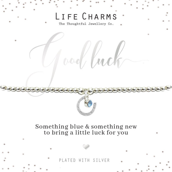 Life Charms Something Blue and Something New Bracelet