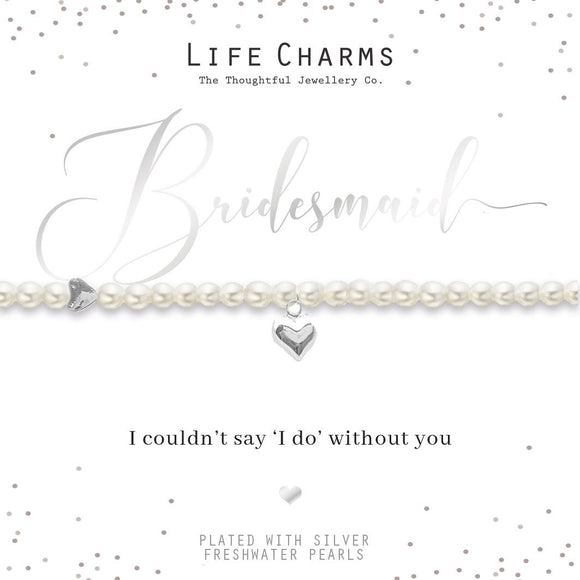 gifteasyonline - Life Charms Will You Be My Bridesmaid - Life Charms - Bracelet