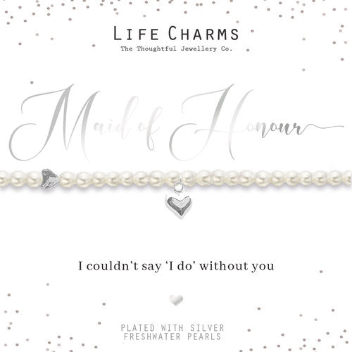 Life Charms Will You Be My Maid of Honour Bracelet