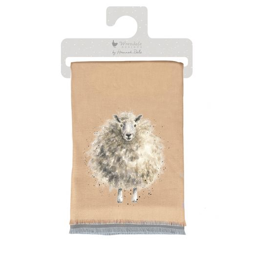 Wrendale Sheep 'The Woolly Jumper' Scarf