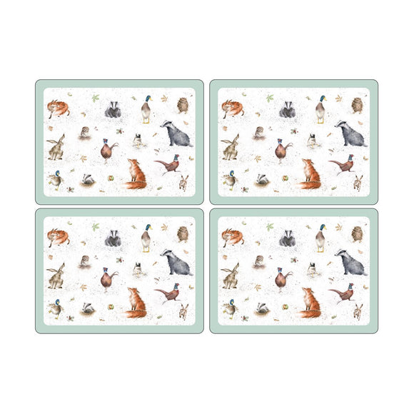 Portmeirion Pimpernel Wrendale Placemats set of 4