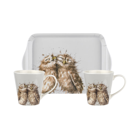 Pimpernel Owl Mug and Tray Set - Gifteasy Online