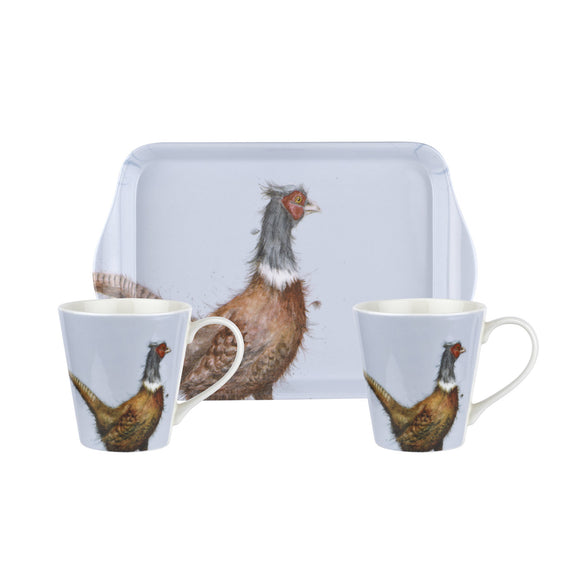 Pimpernel Pheasant Mug and Tray Set - Gifteasy Online