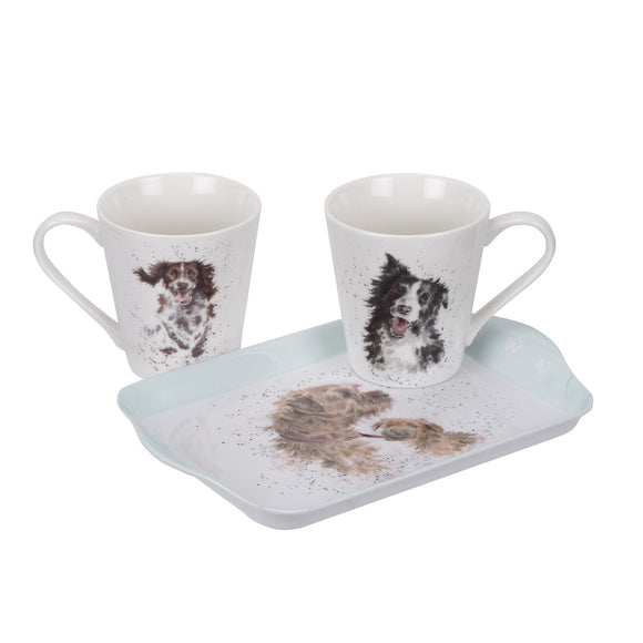 Wrendale Dog Mug and Tray Set - Gifteasy Online