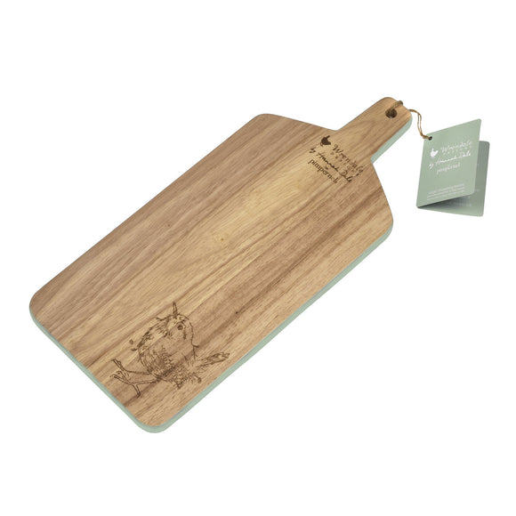 Pimpernel Wrendale Large Wooden Chopping Board Wren Design