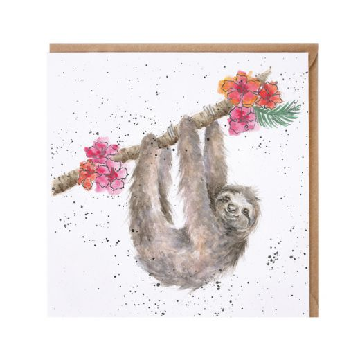 Wrendale 'Hanging Around' Card