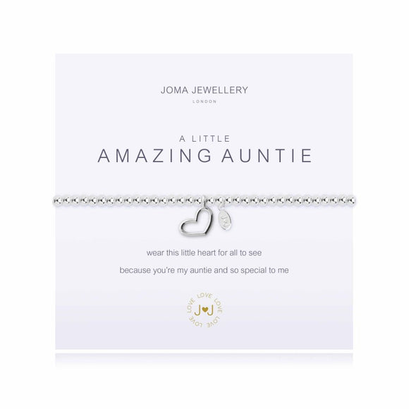 A Little Amazing Auntie Bracelet By Joma Jewellery - Gifteasy Online