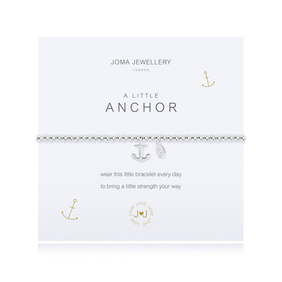 A Little Anchor Bracelet By Joma Jewellery