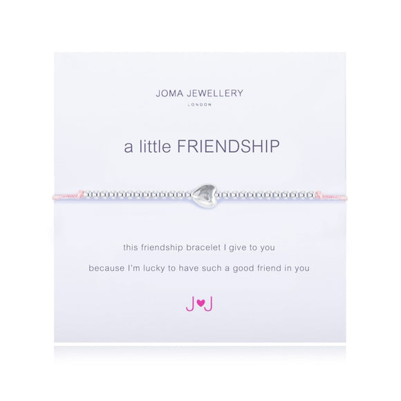 A Little Friendship Bracelet Pink By Joma Jewellery