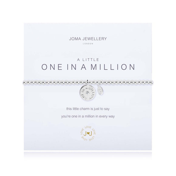 A Little One in a Million Bracelet  By Joma Jewellery