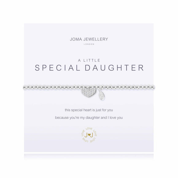 A Little Special Daughter Bracelet By Joma Jewellery