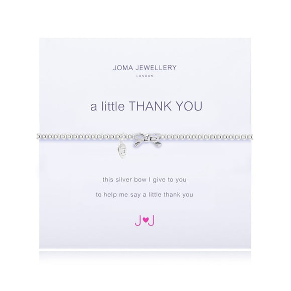A Little Thank You Bracelet By Joma Jewellery - Gifteasy Online