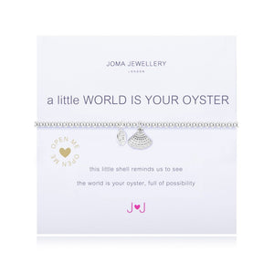 A Little World Is Your Oyster Bracelet By Joma Jewellery - Gifteasy Online