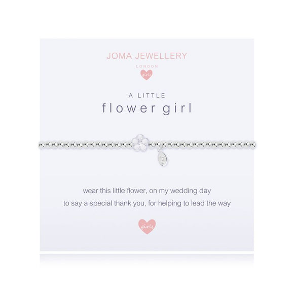 gifteasyonline - Joma Jewellery Kids A Little Flower Girl Bracelet - Joma Jewellery - Bracelet
