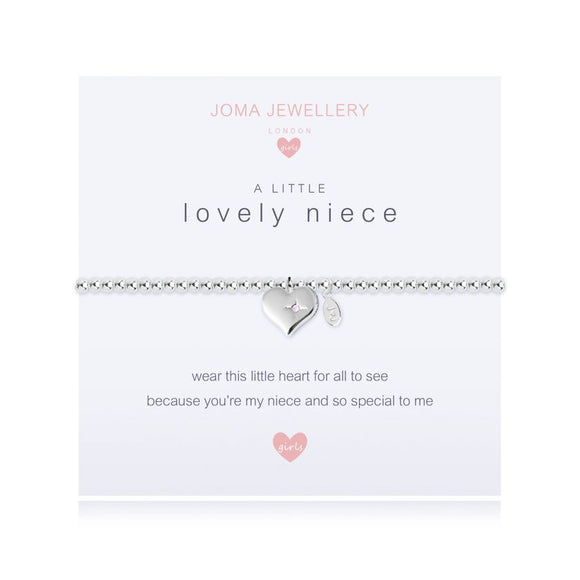 gifteasyonline - Joma Jewellery A Little Wonderful Niece Girls Bracelet - Joma Jewellery - Bracelet