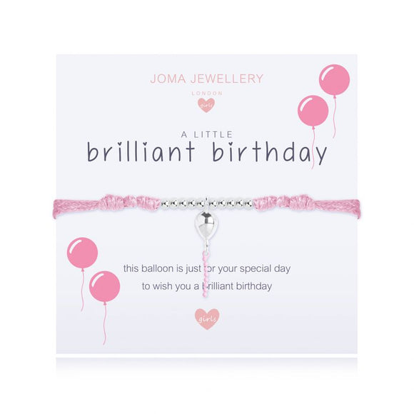 Joma jewellery A Little Brilliant Birthday Bracelet Children's