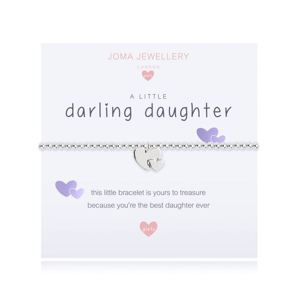 gifteasyonline - Joma Jewellery A Little Darling Daughter Girls Bracelet - Joma Jewellery - Bracelet