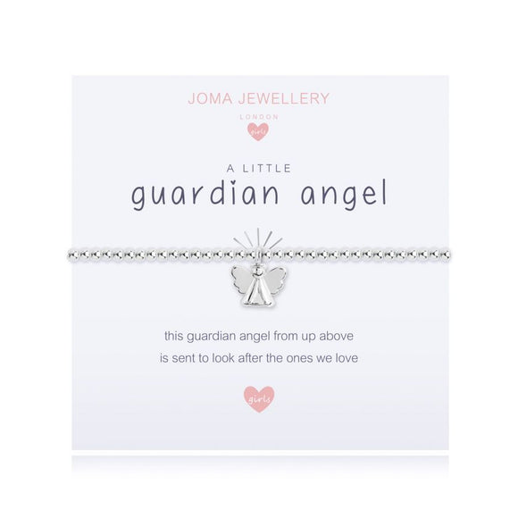 Joma Jewellery A little Girls Guardian Angel Bracelet