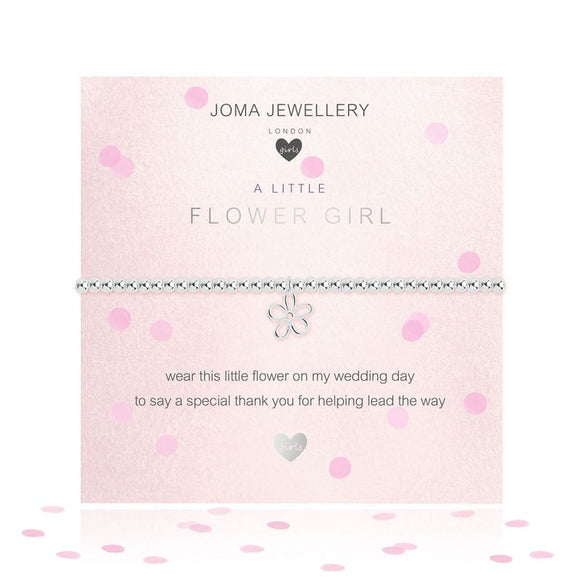 Joma Jewellery A Little Flower Girl Bracelet