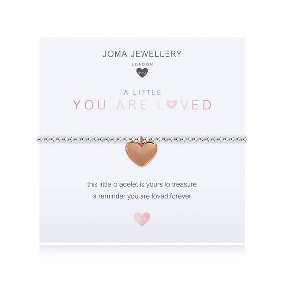 Joma Jewellery A Little You Are Loved Bracelet Girls - Gifteasy Online
