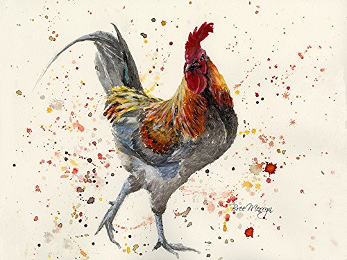 Bree Merryn Carl Cockerel 40cm Canvas print - Gifteasy Online