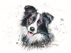 gifteasyonline - Bree Merryn Carson The Border Collie Canvas Cutie - Bree Merryn - Canvas Cuties