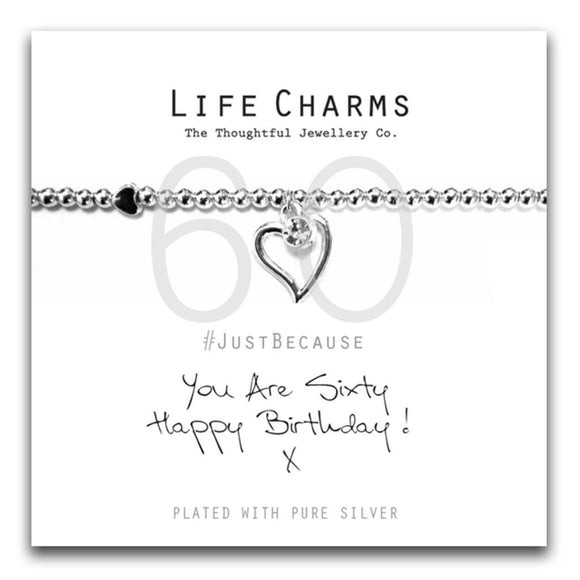 Life Charms Happy 60th Birthday