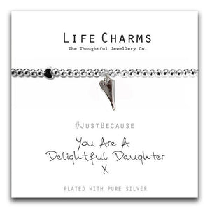 Life Charms Delightful Daughter Bracelet