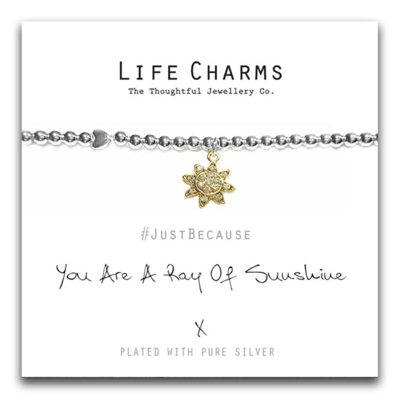 Life Charms You Are A Ray of Sunshine Bracelet - Gifteasy Online