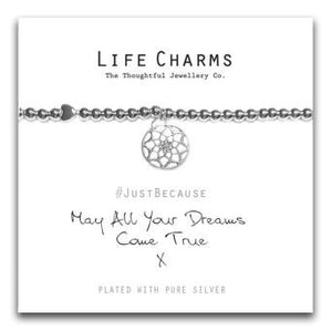 Life Charms May All Your Dreams come True Bracelet