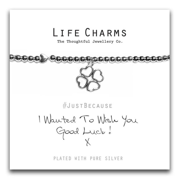 Life Charms Good Luck Bracelet