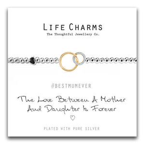 Life Charms Love Between Mother & Daughter Bracelet