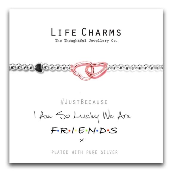 Life Charms We Are Friends Bracelet