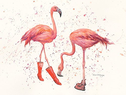 gifteasyonline - Bree Merryn Felicity and Flora Flamingo - Bree Merryn - Canvas Cuties