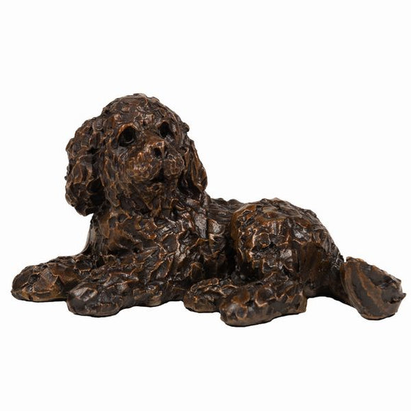 Frith Creative Bronze Solid Bronze Cockapoo Dog