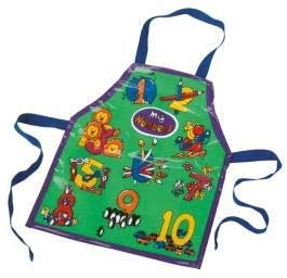 Stow Green Numbers Infant PVC Apron