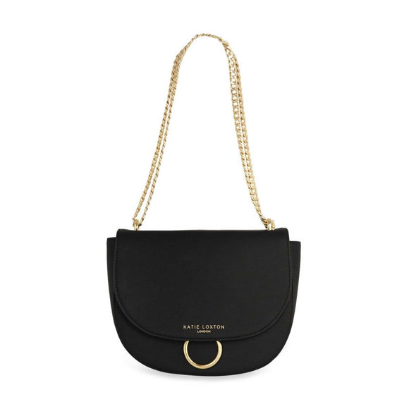 Katie Loxton Lucia Saddle Bag | Black